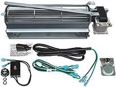 Hongso GFK4 Replacement Fireplace Blower Fan KIT for Heatilator, Majestic, Vermont...