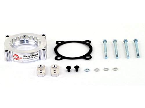 (aFe Power Silver Bullet 46-33011 Ford Throttle Body Spacer)