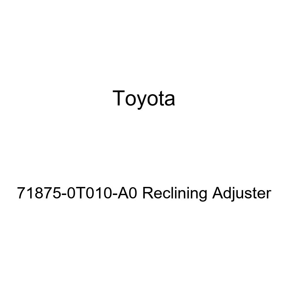 TOYOTA Genuine 71875-0T010-A0 Reclining Adjuster