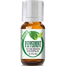 Healing Solutions Peppermint Essential Oil (100% Pure - Therapeutic Grade) - 10ml