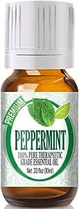 Peppermint (PREMIUM Pharmaceutical Grade) - 100% Pure, Best Grade Essential Oil - 10ml
