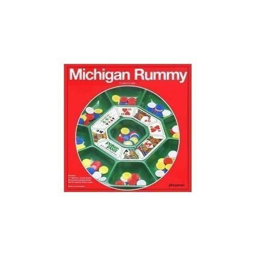 Image of Games Pressman Michigan Rummy