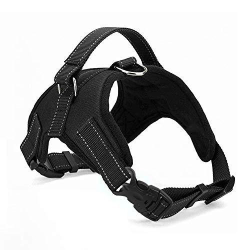 🥇 Wodondog Arnés para Perros Chaleco Ajustable Suavemente Acolchado Transpirable Silla de Montar Tipo Cofre Arnés para Collar de Seguridad