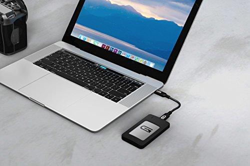 Glyph Atom RAID SSD 1TB Silver (External USB-C, USB 3.0, Thunderbolt 3) AR1000SLV by Glyph Production Technologies (Image #3)