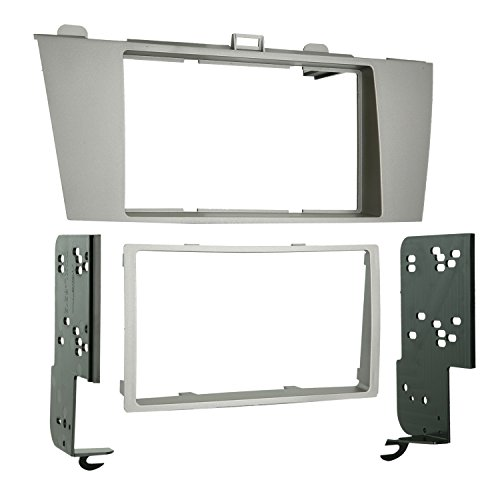 Metra 95-8212 Double DIN Installation Kit for 2004-2008 Toyota Solara Vehicles (Silver)