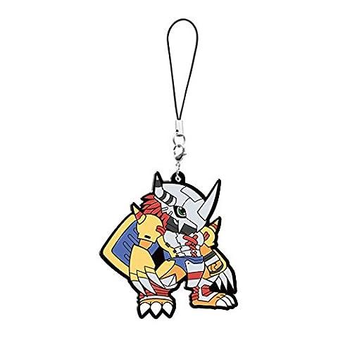 Digimon Adventure Tri: WarGreymon Pvc Keychain (Digimon Miniatures)