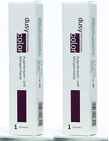 dusy Professional 2 x de cejas y pestañas Color por 20 ml 2 ...
