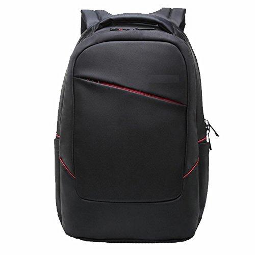 Mefly Ergonomía impermeable Mochila bolsa para portátil de 15,6 pulgadas 14 hombres de negocios marca mochilas Mochila sacos de Verano Mujer,Negro,China China