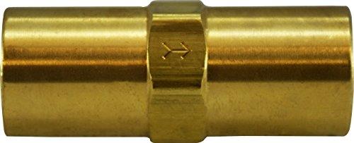 Midland 46-562V Brass Check Valve 3//8 FIP x 3//8 FIP Viton 3//8 FIP x 3//8 FIP Viton Midland Metal