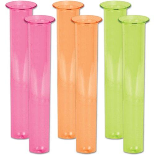 - Neon Test Tube Shot Glasses (asstd colors) (6/Pkg)