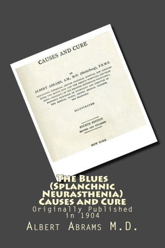 Download The Blues (Splanchnic Neurasthenia) Causes and Cure pdf