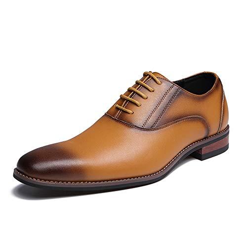 Zapatos color De Oxford Para Formales Marrón Hombres Negocios 42 Retro Negro Cómodos Pulidos Y Mxnet Tamaño Eu wPt5qdx