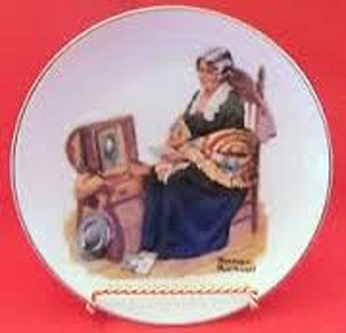 (Norman Rockwell Collector Plate, Memories, 1984)