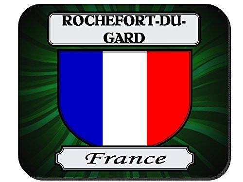 rochefort-du-gard-france-city-mouse-pad