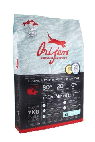 Orijen 6-Fish Grain-Free Dry Cat and Kitten Food, 15.4lb, My Pet Supplies