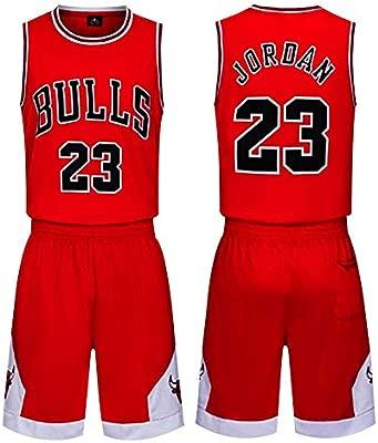 Th-some NBA Maillots de Baloncesto - Camisetas de Baloncesto NBA Bulls Jordan NO.23,Lakers James NO.23,Warriors Curry NO.30,Chaleco y Pantalones ...