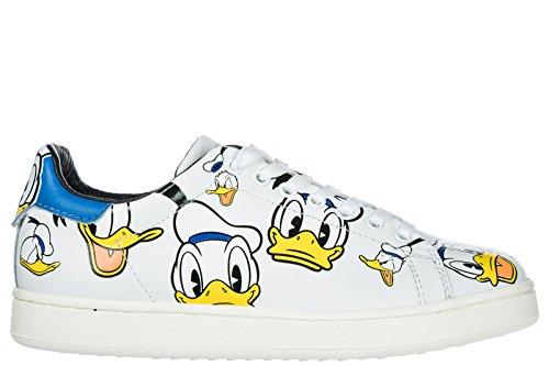 Moa Master Of Arts Donna Scarpe Sneakers Donna Scarpe In Pelle Sneakers Donald White