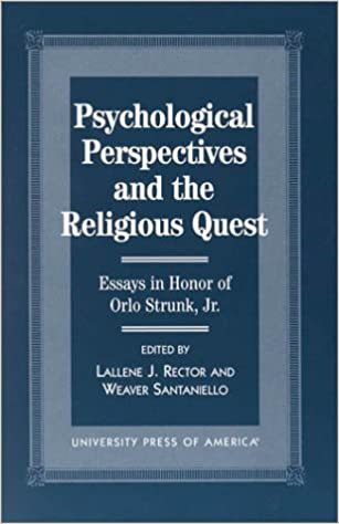 Read Psychological Perspectives and the Religious Quest: Essays in Honor of Orlo Strunk Jr. PDF, azw (Kindle), ePub, doc, mobi