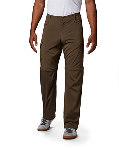 Columbia Men's Standard Silver Ridge Stretch Convertible Pant, Major, 34 x 30 (Best Walled Cities In Europe)