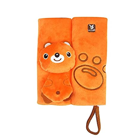 frog Amazemarket Baby Child Kids 1 Pair Stroller Cartoon Animal Safety Seat Belt Cover Protection Car Seats Strap Shoulder Pad Cushion Soft Accessories