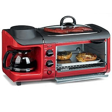 Amazon.com: Cooks by JCP Home 3-in-1 Cooking Center, Coffee Maker ...
