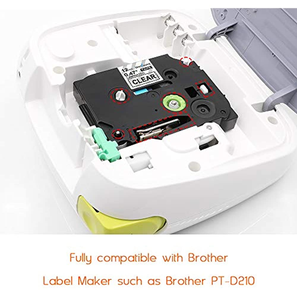 Brother Labeling System Pt1880c P Touch Label Maker New: Compatible Label Tape Replacement Brother TZe 131 P Touch