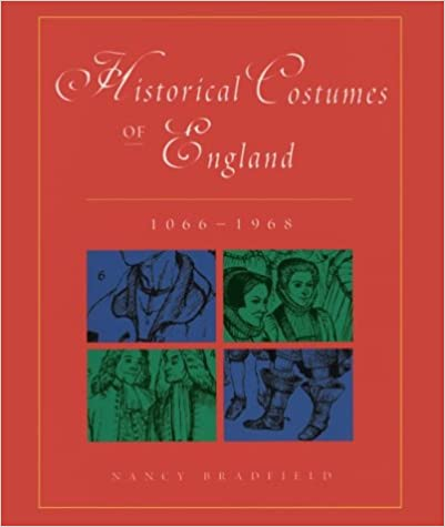 Title image of Historical Costumes of England by Nancy Bradfield