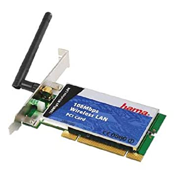 HAMA 108MBPS WIRELESS PC CARD DRIVERS FOR WINDOWS 10