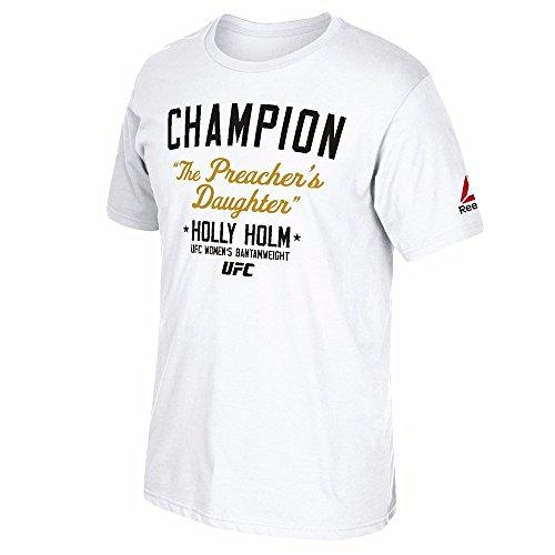 Reebok Men's UFC Fan Holly Holm Champion Short-Sleeve T-Shirt – DiZiSports Store