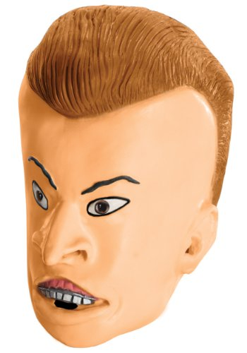 MTV Beavis and Butt-Head Adult Butt-Head Mask, Multicolored, One -