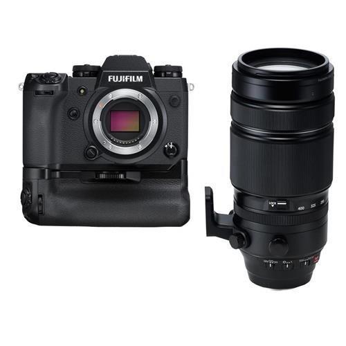Fujifilm X-H1 Mirrorless Camera Body, with Vertical Power Bo
