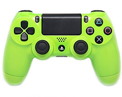 Lime Green Ps4 Modded Controller 35 mods for BO2, BO3, Advanced Warfare, Destiny, Ghosts, MW3 Rapid Fire QUICKSCOPE, JITTER, DROP SHOT, AUTO AIM (Bo2 Ps4)