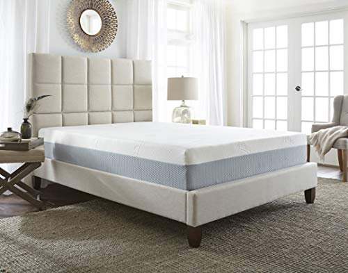 Boyd Sleep Open Cell Memory Foam with Cooling GelLux Latex Layer Hybrid Mattress, 10