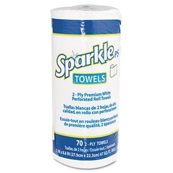 Premium Perforated Paper Towel 11 x 8 4/5 White 70/Roll 30/Carton