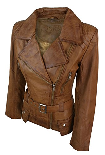 Trench Tan Leather Teal Real Black Jacket Designer Mid Green Length Tan Ladies rSw45qxr