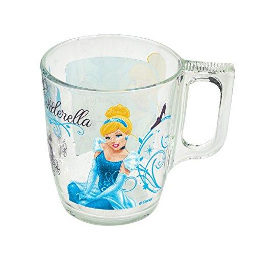 """Luminarc """"Disney Princess"""" 8 Oz Mug, Tempered Glass Tea and"""