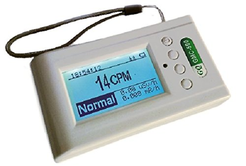 GQ GMC-500Plus Nuclear Radiation Detector Monitor Dosimeter (Best Personal Geiger Counter)