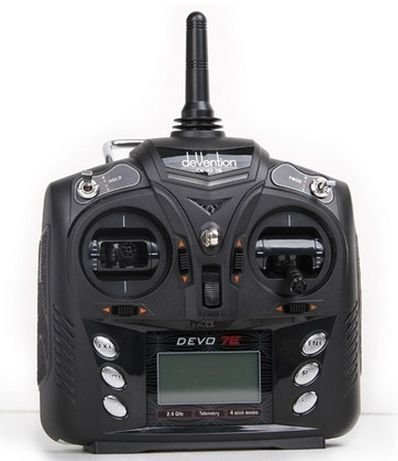 Walkera 7CH 2.4G DEVO 7E DSSS Radio Control Transmitter Model 2 for Helicopter Airplane