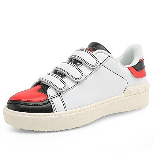 Zapatos de las señoras blanca/Casual flat-bottom zapatos de las señoras/las mujeres los zapatos del deporte del B