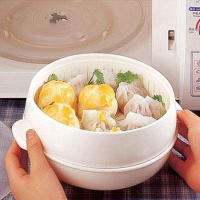 Vaporera portátil para microondas con tapa, de Nahasu ...