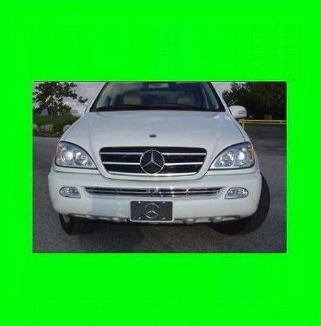 Amazon Com 312 Motoring Fits Mercedes W163 Ml 1998 2005 Chrome