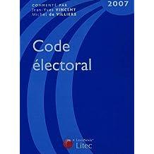 CODE ÉLECTORAL 2007