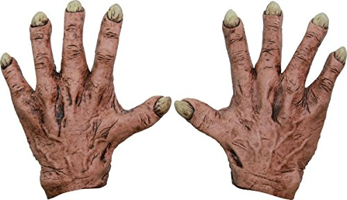 Monster Flesh Latex Hands Adult Accessory