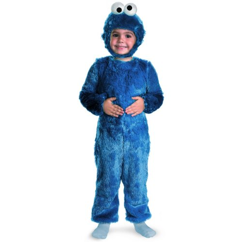 Cookie Monster Comfy Fur Toddler Costume - Toddler (Cookie Monster 2t Costume)