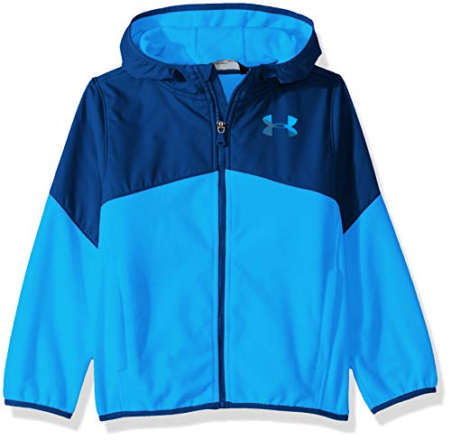 - Under Armour Boys' Big Print North Rim Micro Fleece Hoody, Blue Circuit, X-Large (18/20)