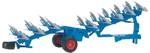 (Lemken Semi mounted reversible plow)