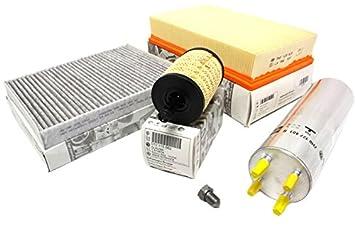 Original Volkswagen T5 Diesel ATEC filtro Kit T5 7H Service ...