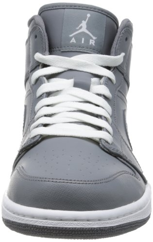 GREY WHITE GREY JORDAN 1 AIR COOL COOL MID Nike RP6HqC