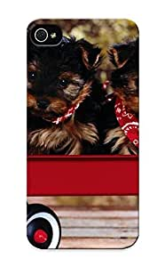 Charlesvenegas Iphone 5/5s Well-designed Hard Case Cover Animal Yorkshire Terrier Dog Protector For New Year's Gift