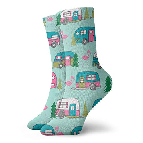 Womens New Mexico State Car Art Printed Funny Novelty Casual Socks